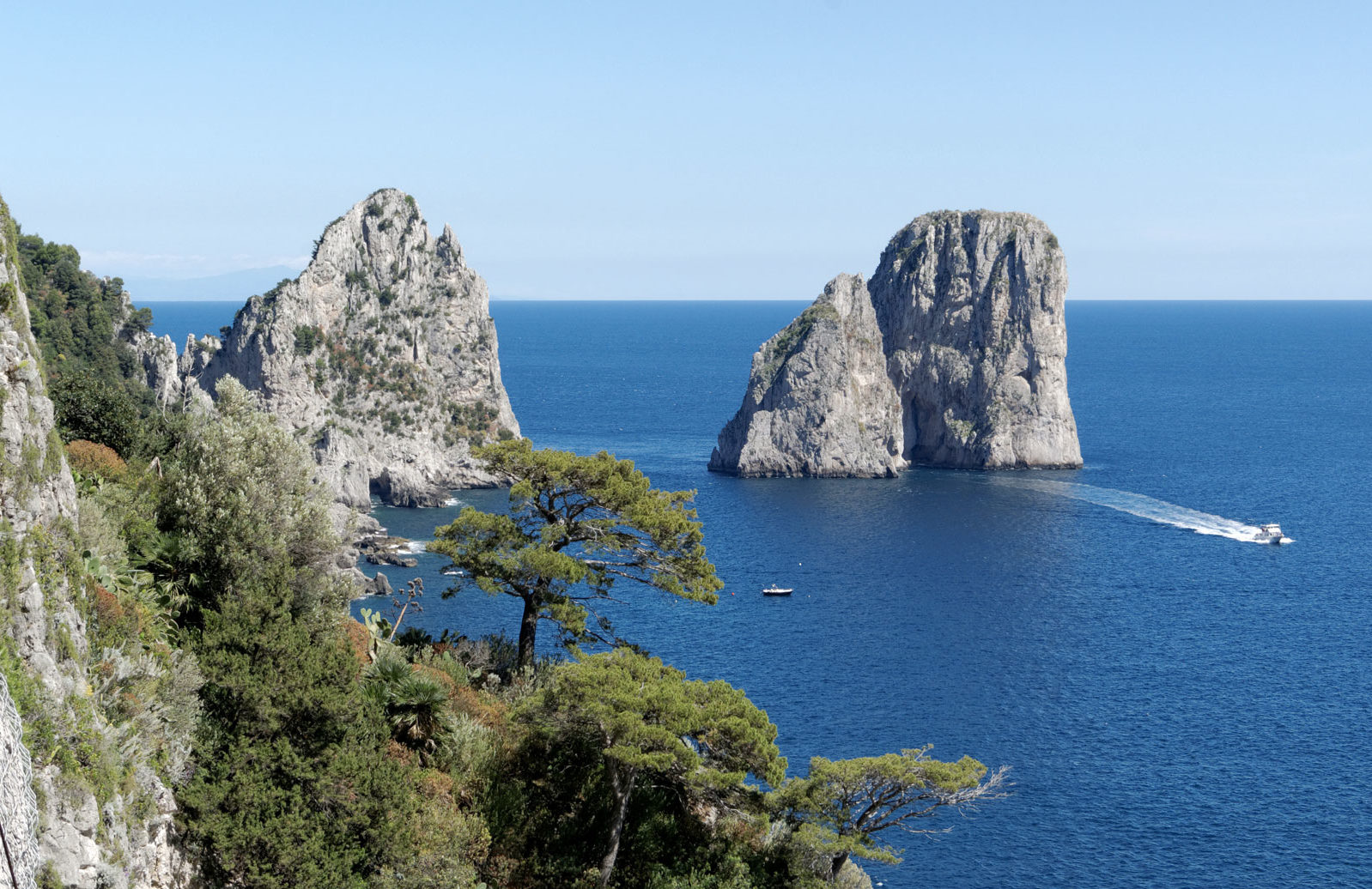 Villa Maria Pia, l'hotel per visitare Capri in barca!